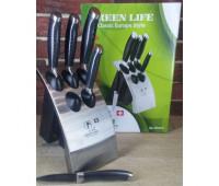 Набір ножів 6 в 1 GREEN LIFE GL-P0453