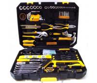 Набір інструментів Crest tools 168 предметів, у валізі тріснуть один клапан закриття кейса