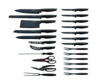 Набір ножів кухонних Royalty Line RL-MB24B 24 шт