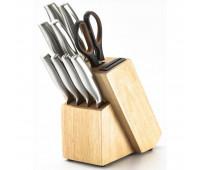 Набір кухонних ножів на підставці Herenthal HT-MSH06-16011 10 шт