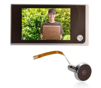 """Відеовічко дверної домофон 2МП РК 3.5"""""""