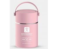 Термос для їжі Harmony 800 мл, рожевий