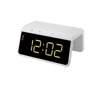 Смарт-годинник з LED-підсвічуванням і бездротовою зарядкою SY-W0258, білі