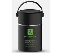 Термос для їжі Harmony 800 мл, чорний