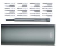 Викрутка з набором насадок REMAX Screwdriver Kit RL-LF12, сірі