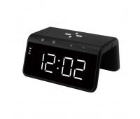 Смарт-годинник з LED-підсвічуванням і бездротовою зарядкою SY-W0258, чорні
