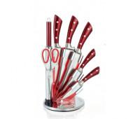 Набір кухонних ножів 8 в 1 Royalty Line RL-KSS820