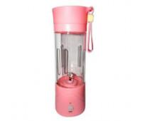 Портативний Блендер Smart Juice Cup Fruits USB pink