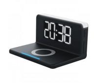 Розумні годинник з LED-підсвічуванням і бездротовою зарядкою SY-W0241, чорні