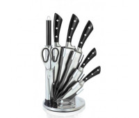 Набір кухонних ножів 8 в 1 Royalty Line RL-KSS821