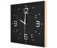 Часы настенные Kauza 0002, черные