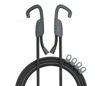 Трос універсальний з гачками BASEUS multi-purpose elastic clothesline, чорний