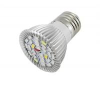 Фитолампа для рослин E27, 28 LED, 8 Вт