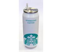 Кружка банку Starbucks з великим логотипом