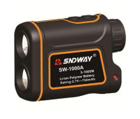 Лазерний далекомір спідометр SNDWAY SW-1000A 3-1000M 1000м Orange