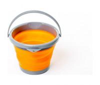 Відро складне силіконове Tramp 5л. TRC-092, помаранчевий
