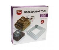 Набір квадратних форм для випічки і формування десертів
