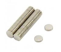 Неодимові магніти N35, 5х3 мм, 100 шт