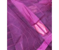 Антимоскітна штора з надрукованим зображенням на комбинированом магніті 100*210 фіолетовий