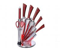 Набір кухонних ножів 8 в 1 Royalty Line RL-KSS804N
