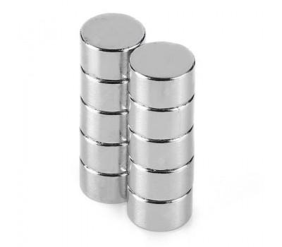 Неодимові магніти N35, 10х5 мм, 10 шт