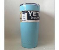 Чашка YETI Rambler Tumbler 590 мл Блакитний