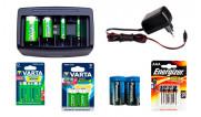 Батарейки, акумулятори та ЗП